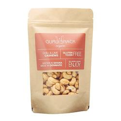 Guru Snack Cashews Chili & Lime, 100g