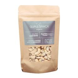 Guru Snack Cashews Salted, 100g