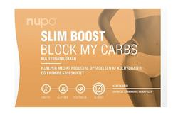 Nupo Slim Boost - Block My Carbs, 60kaps.