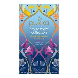 Pukka Te Day to Night Collection te Ø sampak, 20br