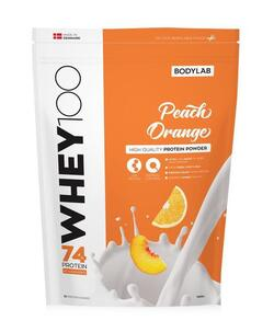 Bodylab Whey 100 Peach/Orange, 1kg.