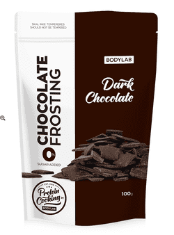 Bodylab Protein Baking Mix - Dark Chocolate Frosting, 100g.