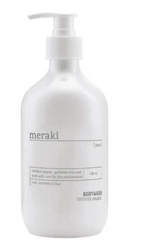 Meraki Body wash, Pure, 490 ml.