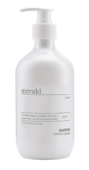 Meraki Shampoo, Pure, 490 ml.