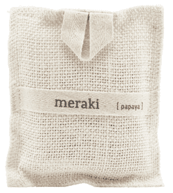 Meraki Bath Mitt, Papaya, 140 g.