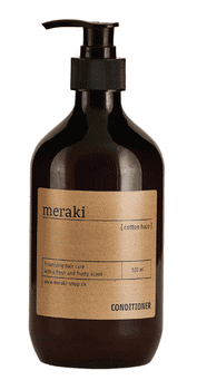 Meraki Hårbalsam, Cotton haze, volume, 500 ml.