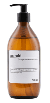 Meraki Pure oil, Orange, 500 ml.