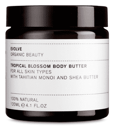 Evolve TROPICAL BLOSSOM BODY BUTTER, 120 ml.