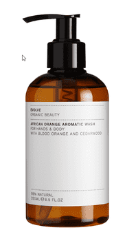 Evolve AFRICAN ORANGE AROMATIC WASH, 250 ml.