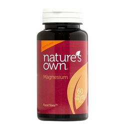 Natures Own Magnesium Food State, 60tab / 50g
