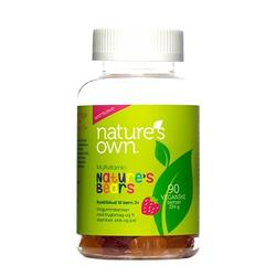 Natures Own Multivitaminer Nature's Bear, 90stk