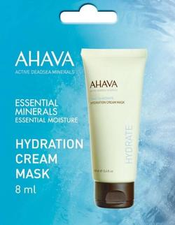 Ahava Hydration Cream Mask, 8ml.
