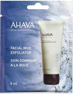 Ahava Facial mud exfoliator, 8ml.