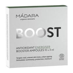 MÁDARA ANTIOXIDANT ENERGISER BOX, 10 x 3 ml.
