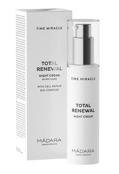 MÁDARA TIME MIRACLE Total Renewal Night Cream, 50ml.