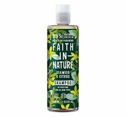 Faith in Nature Shampoo Alge & Citrus, 400 ml.
