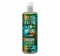 Faith in Nature Shampoo Kokos, 400 ml.