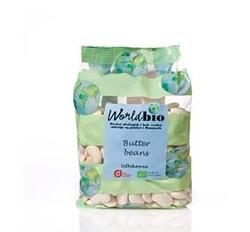 World Bio Butter beans Ø, 475 g.