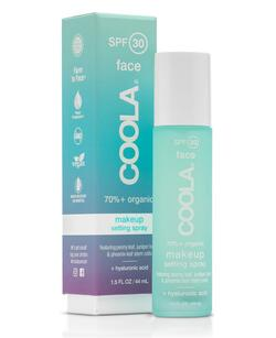 GRATIS Coola Make-up setting spray SPF 30 tea/aloe, 10ml. ved køb af Coola produkt