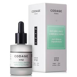 Codage Serum No. 2 Mattifying & Repairing, 30 ml.