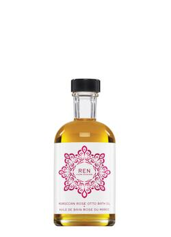 REN Skincare Moroccan Rose Otto Bath Oil, 110 ml.