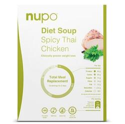 Nupo Spicy Thai 4 x 384gr., 1536gr.