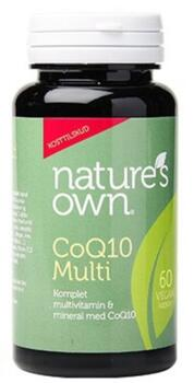 Natures Own CoQ10 Multi Whole Food, 60kap.