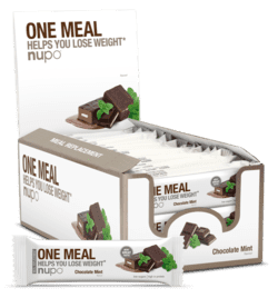 Nupo Chokolade Mint Meal Replacement Bar 24stk.