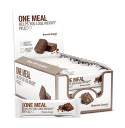 Nupo One Meal Bar Brownie Crunch, 24stk.
