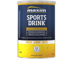 Maxim Sports Drink Fresh Lemon, 480g.