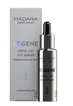 MÁDARA RE:GENE Optic Lift Eye Serum, 15 ml.