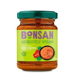Bonsan Rød Pesto Ø, 130 g.