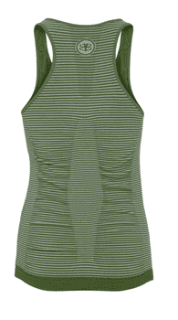 Bella Beluga Classic Top w/Bra, Tree Top Green/Stripe