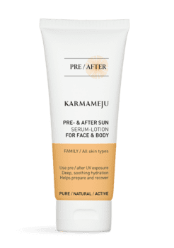 Karmameju AFTERSUN Serum-lotion - Travel Size, 100 ml.
