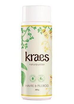 KRAES naturpudder, 120g.