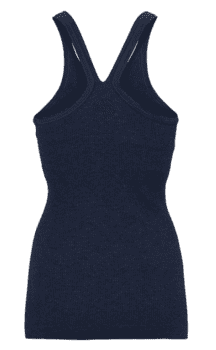 Bella Beluga Y-Back Tank, Navy