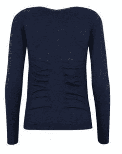 Bella Beluga Classic Long Sleeve, Navy