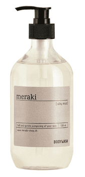 Meraki Body wash, Silky mist, 490 ml.