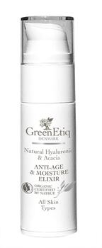 GreenEtiq AntiAge & Moisture Elixir All Skin Types, 30ml.