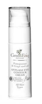 GreenEtiq AntiAge Eye contour Cream All Skin Types, 30ml.