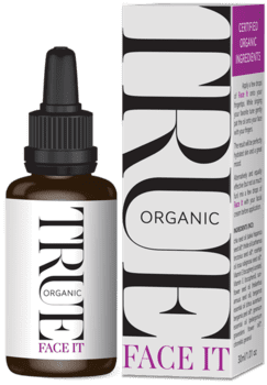 True Organic Face It Serum, 30ml.