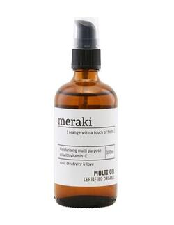 Meraki Multi olie, Orange & herbs, 100ml.