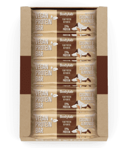Bodylab Vegan Protein Bar Coconut & Almonds, 20x40g.