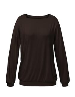 Curare Flow Shirt Karree - chocolate