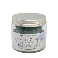 Stone Soap Spa Minisæber - Butterfly Pea, 119g.