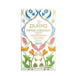 Pukka Herbal collection te Ø sampak Elderberry & Echinacea, Lemon, Ginger & Manuka, 20br