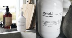 Meraki Hand Sanitiser Gel / Håndsprit, 490ml.