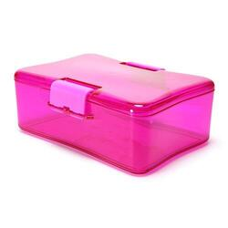 Watertracker LunchBox madkasse hot pink, 1stk