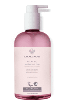 LYKKEGAARD Relaxing Moisture Body Wash, 400 ml.