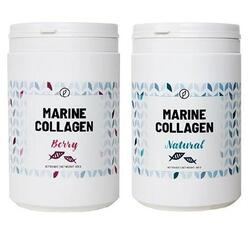 Plent Marine Collagen, Sampak Berry + Natural Sampak 2 x 300gr.